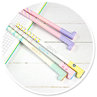 cienkopis pastelowy kalosz