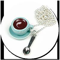 naszyjnik filiżanka kawy nr 2
