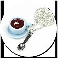 naszyjnik filiżanka kawy nr 6