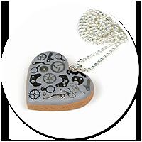 naszyjnik mechaniczne serce nr 2
