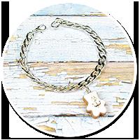bransoleta łańcuch miś marynarz nr 2