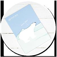 karteczki z misiem polarnym nr 2