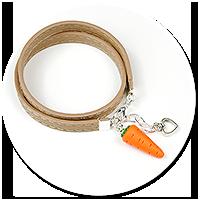bransoletka z marchewką