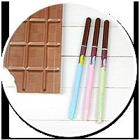 czekoladowy cienkopis