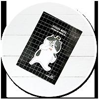 słodkie karteczki kawaii (kotek)