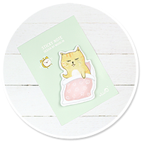 słodkie karteczki kawaii (kotek) nr 3