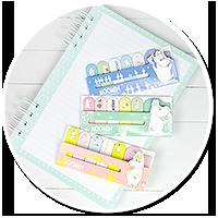 słodkie karteczki z Muminkami