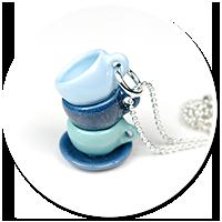 naszyjnik z pastelowymi filiżankami nr 3