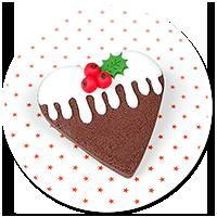 broszka świąteczne ciastko nr 5