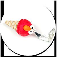 naszyjnik lód Elmo