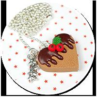 naszyjnik świąteczne ciasteczko nr 3