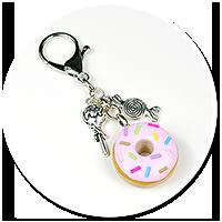 breloczek donut nr 2