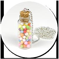 naszyjnik słoik z cukierkami nr 3