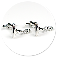 cufflinks corkscrews