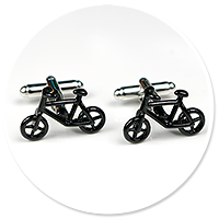 cufflinks for cyclist (bike) no. 2