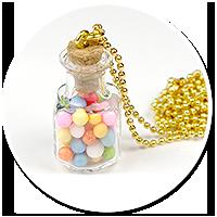 naszyjnik słoik z cukierkami nr 4