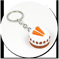 breloczek ciasto marchewkowe