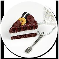 naszyjnik tort czekoladowy nr 4