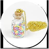 naszyjnik słoik z cukierkami nr 6
