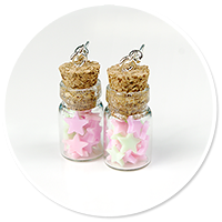 earrings jar with candies no. 4