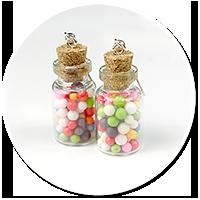kolczyki słoik z cukierkami nr 3