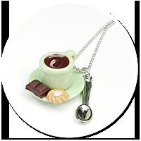 naszyjnik z kawą nr 5