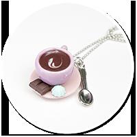 naszyjnik z kawą nr 7