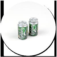 kolczyki wtykane puszki piwa nr 2