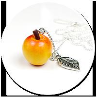naszyjnik jabłko
