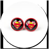 kolczyki SUPERMAN nr 2