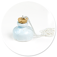 necklace pastel carafe no. 4