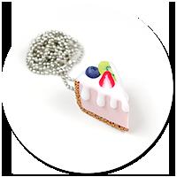 naszyjnik sernik z owocami nr 2