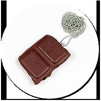 naszyjnik czekoladka nr 2