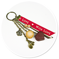 keyring with cookie and chocolate no. 6