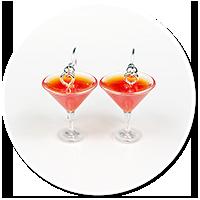 kolczyki drinki nr 7