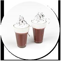kolczyki gorąca czekolada nr 3