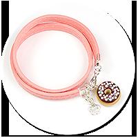 kolorowa bransoletka z pączkiem nr 5