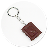 keyring chocolate with mouse