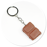 breloczek kostka czekolady nr 2