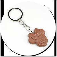 breloczek czekoladka z myszką nr 2