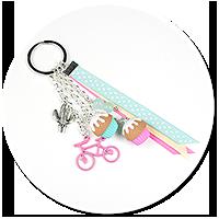 breloczek z babeczkami i rowerem nr 4
