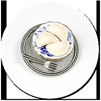 brooch with dumplings no. 3