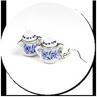 kolczyki ceramiczne cukiernice nr 2