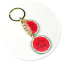 keyring with watermelons no. 2