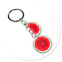 keyring with watermelons no. 3