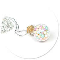 necklace ball with candies no. 7