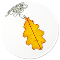 necklace with leaf no. 4