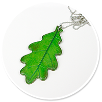 necklace with leaf no. 5
