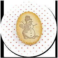 broszka świąteczne ciastko nr 7