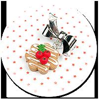 mini broszka świąteczne ciasteczko nr 8
